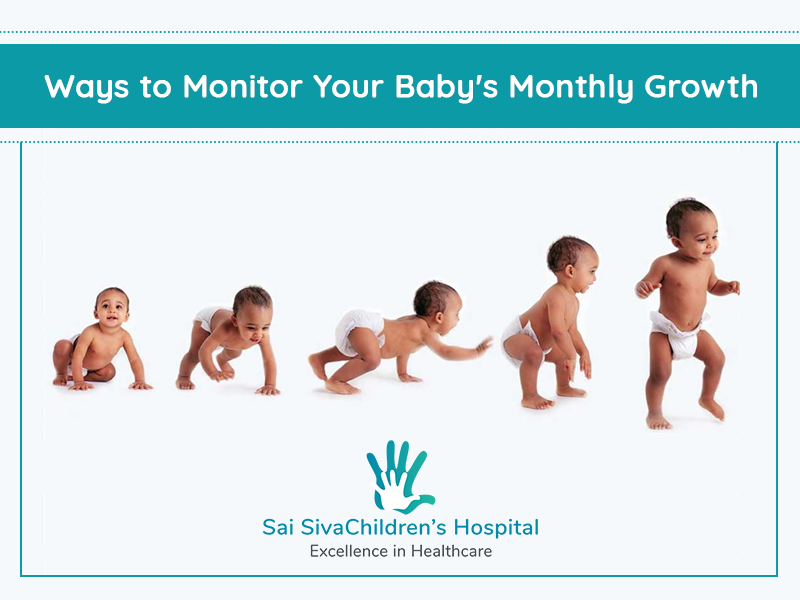 Ways To Monitor Your Baby's Monthly Growth