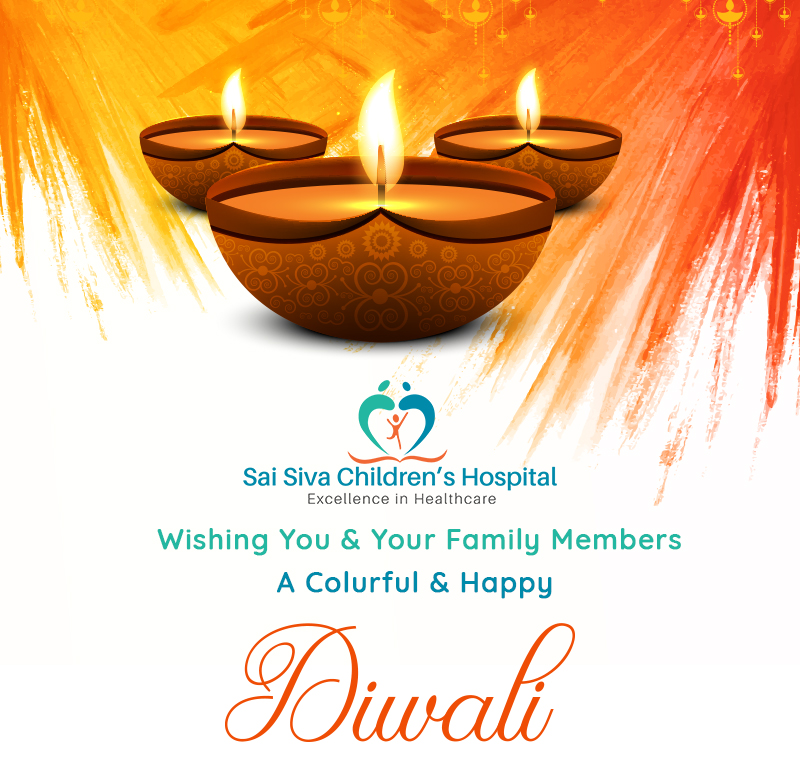 Sai Siva Children's Hospital Whising You And Your Family Members A Colurful And Happy Diawli