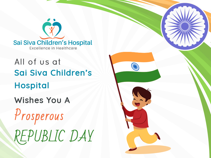 Sai Siva Children's Hospital Wishes You A Glorious Republic Day