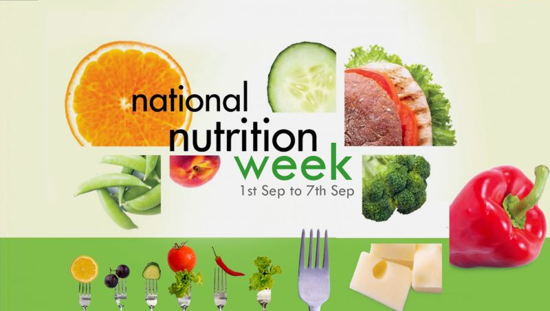 """""""Be Healthy! Be Strong! Be Happy! - National Nutrition Week 2019"""